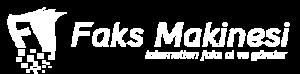 Faks Makinesi Beyaz Logo